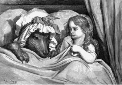 Le Petite Chaperon Rouge ,   1867  Gustave Doré  J. Hetzel, Paris