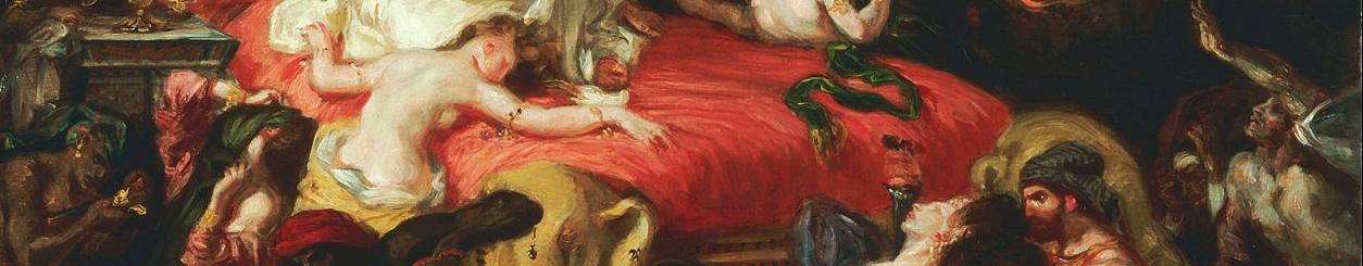 Death of Sarandapalus Detail