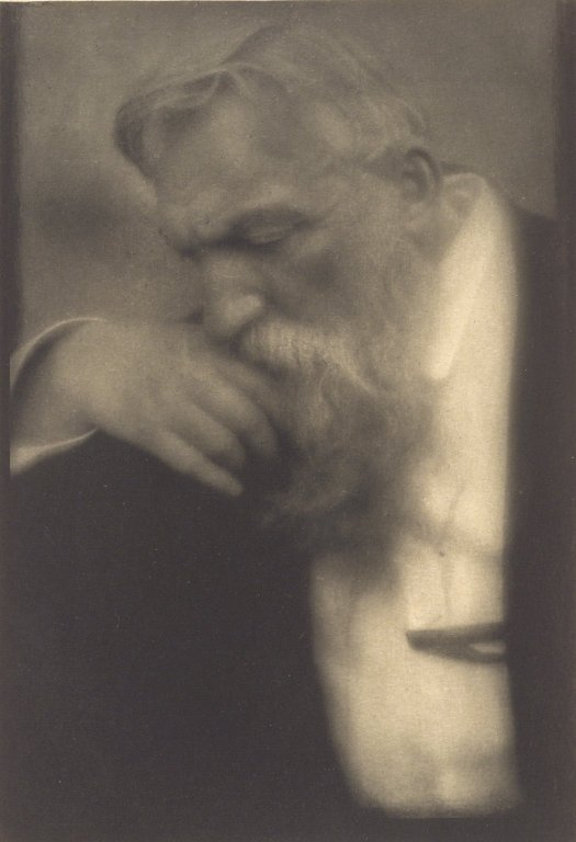 M. Auguste Rodin , circa 1911  Photographed by Edward Steichen (Luxembourgian/American, 1879-1973)  Brooklyn Museum. New York