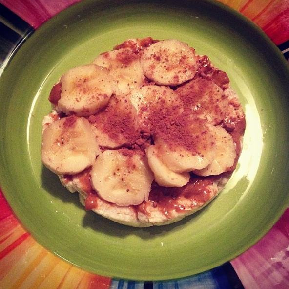 Peanut Butter Rice Cake
