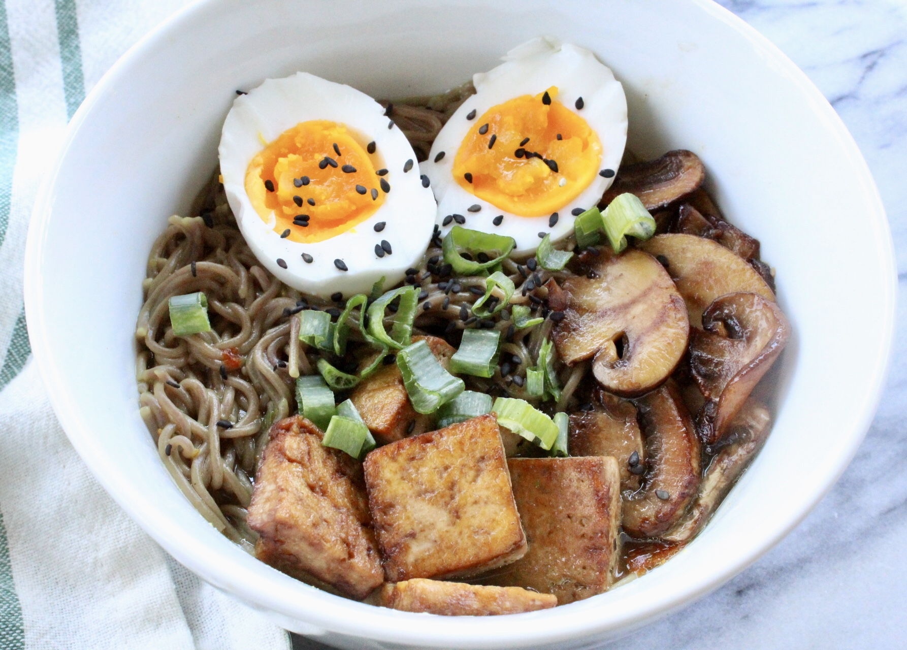 Vegetarian Ramen Bowl - Eleat Sports Nutrition