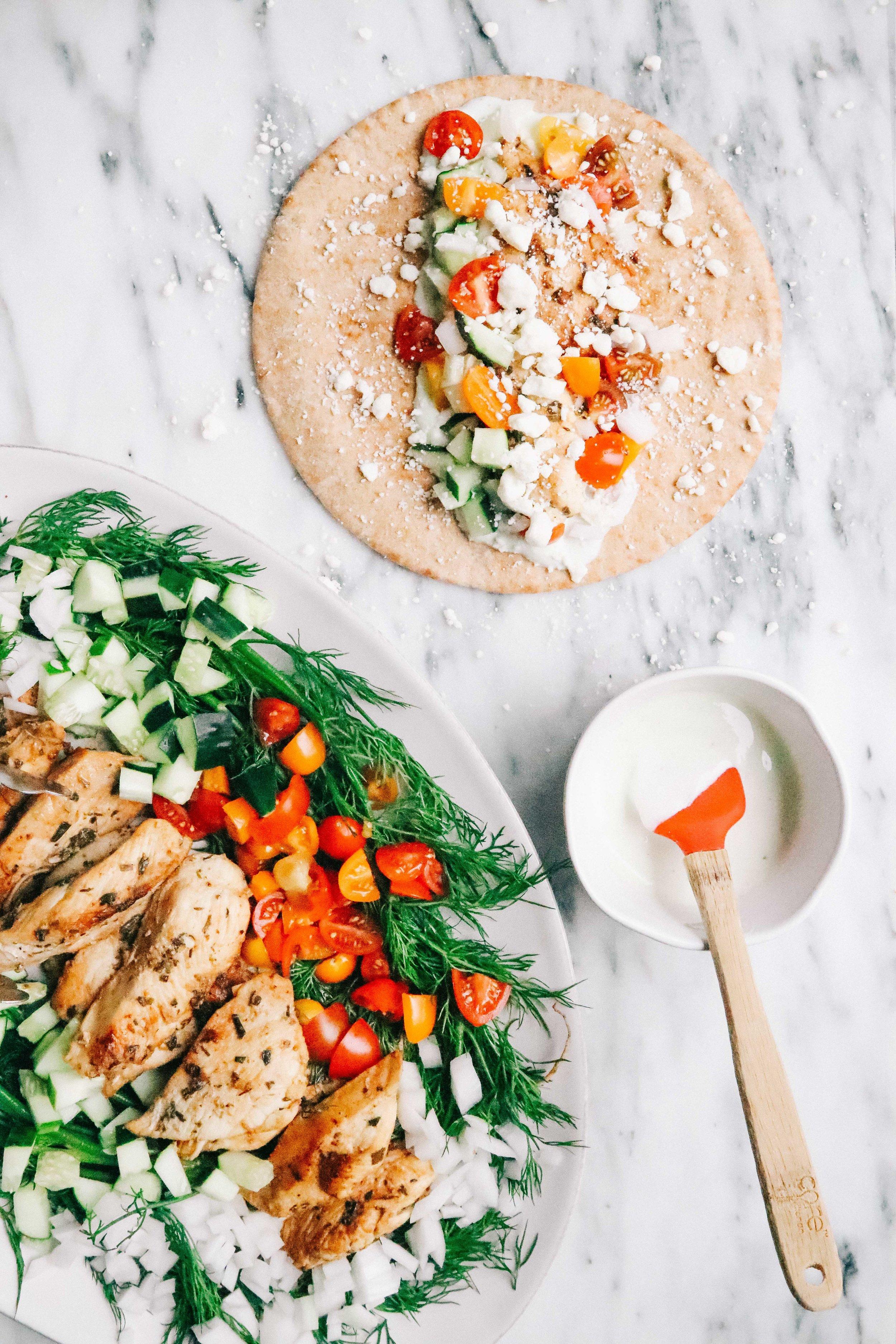 Chicken Gyros Eleat Sports Nutrition