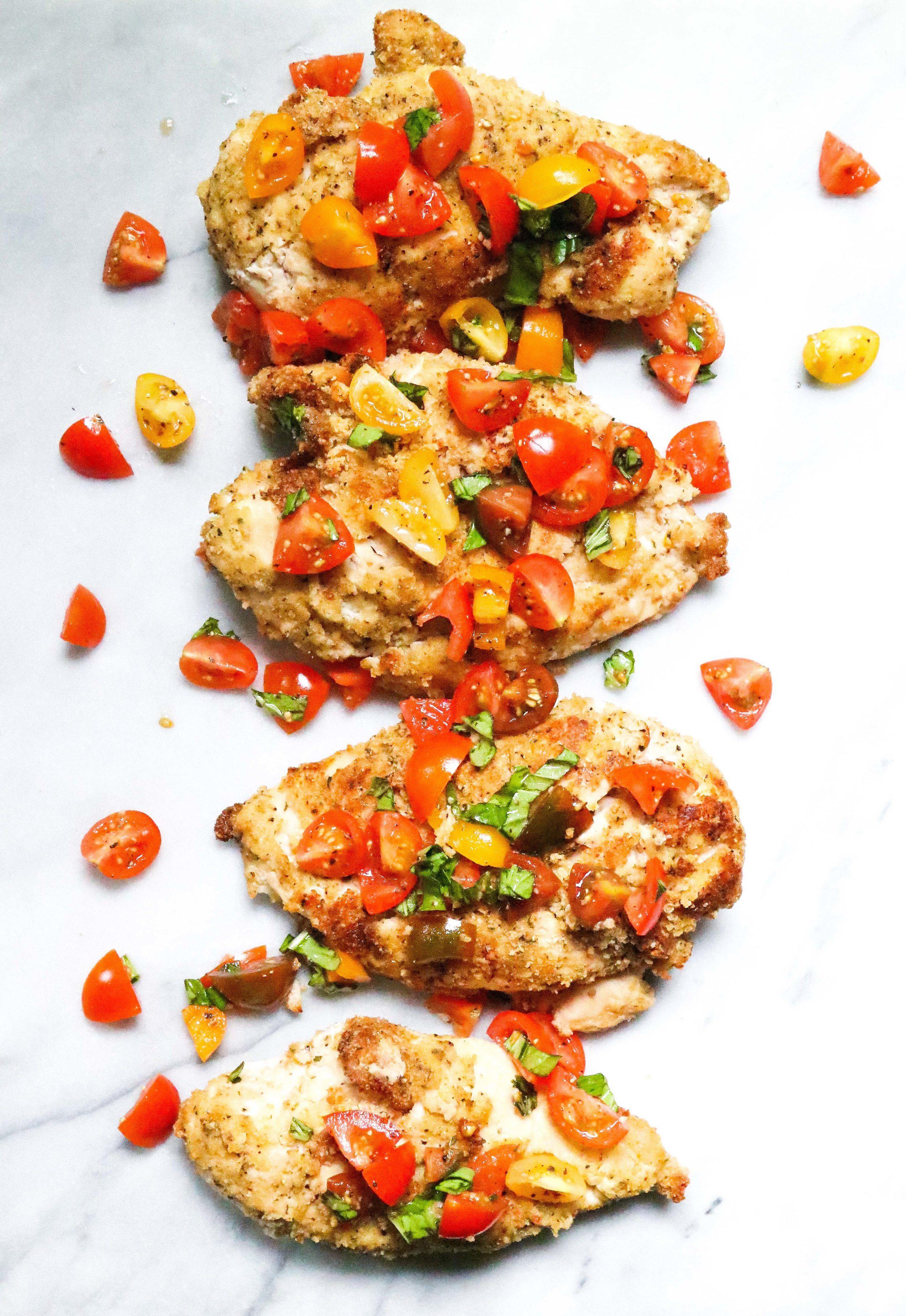 Chicken Bruschetta Eleat Nutrition