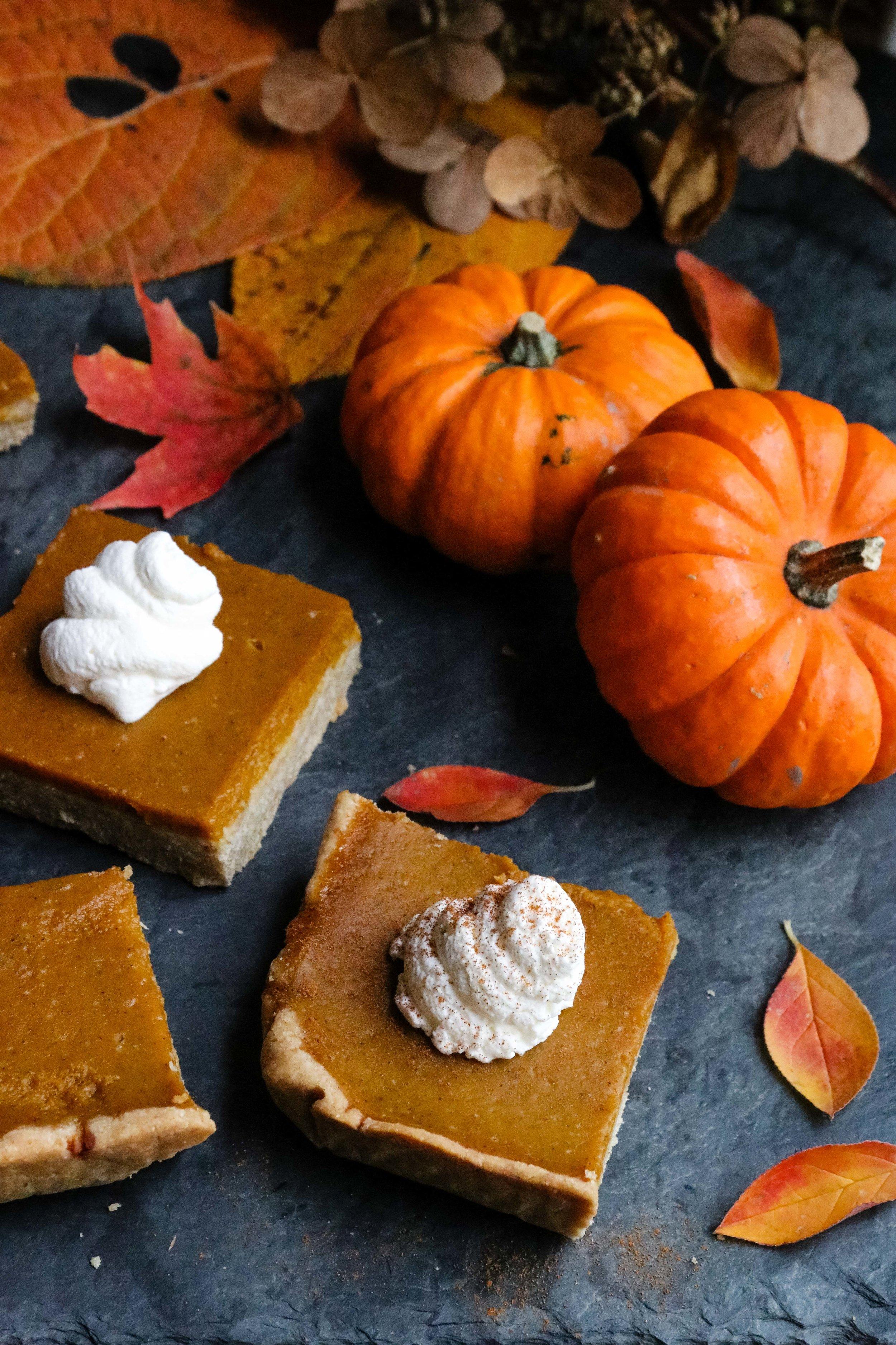 Pumpkin Pie Bars - Eleat Nutrition
