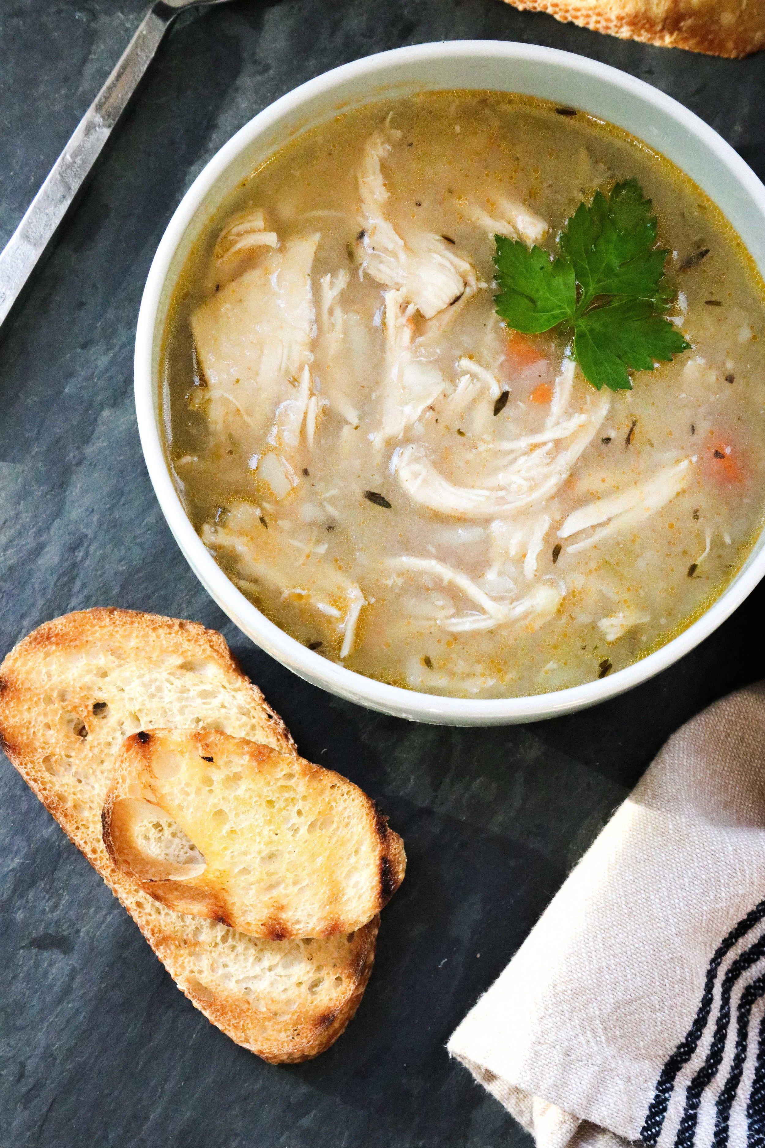 Creamy Potato & Chicken Soup - Eleat Nutrition