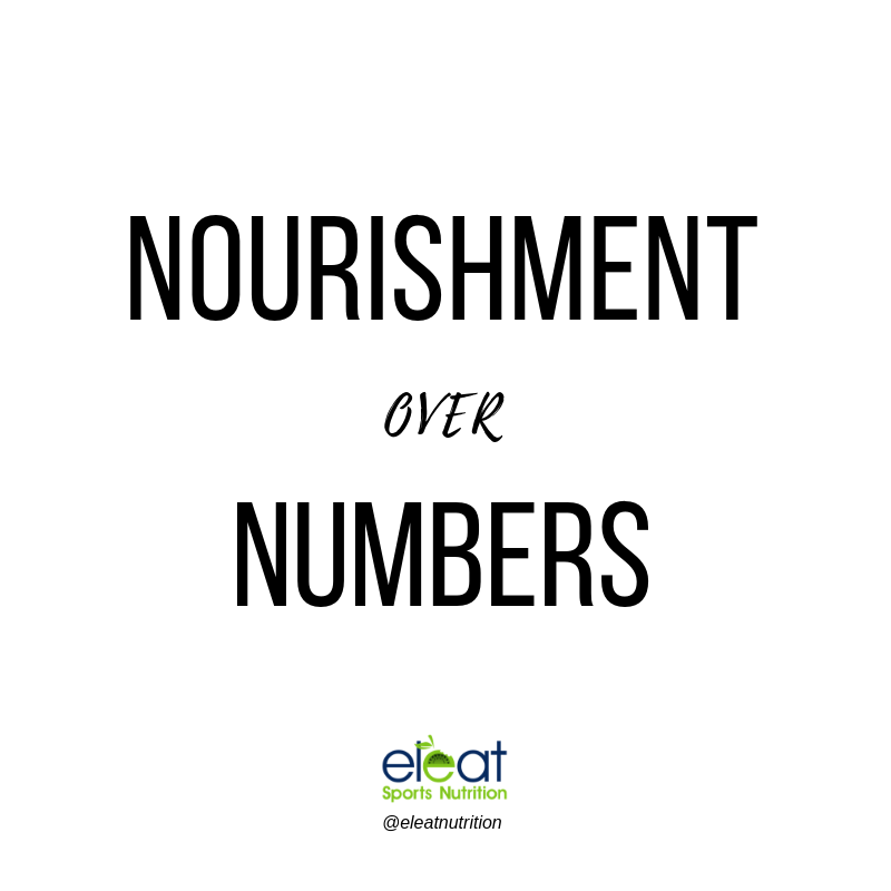 Nourishment Over Numbers - Eleat Nutrition