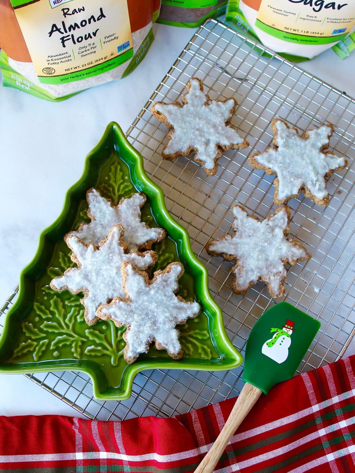 雪花圣诞饼干