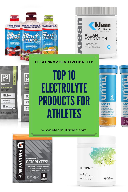 10大运动员电解质产品