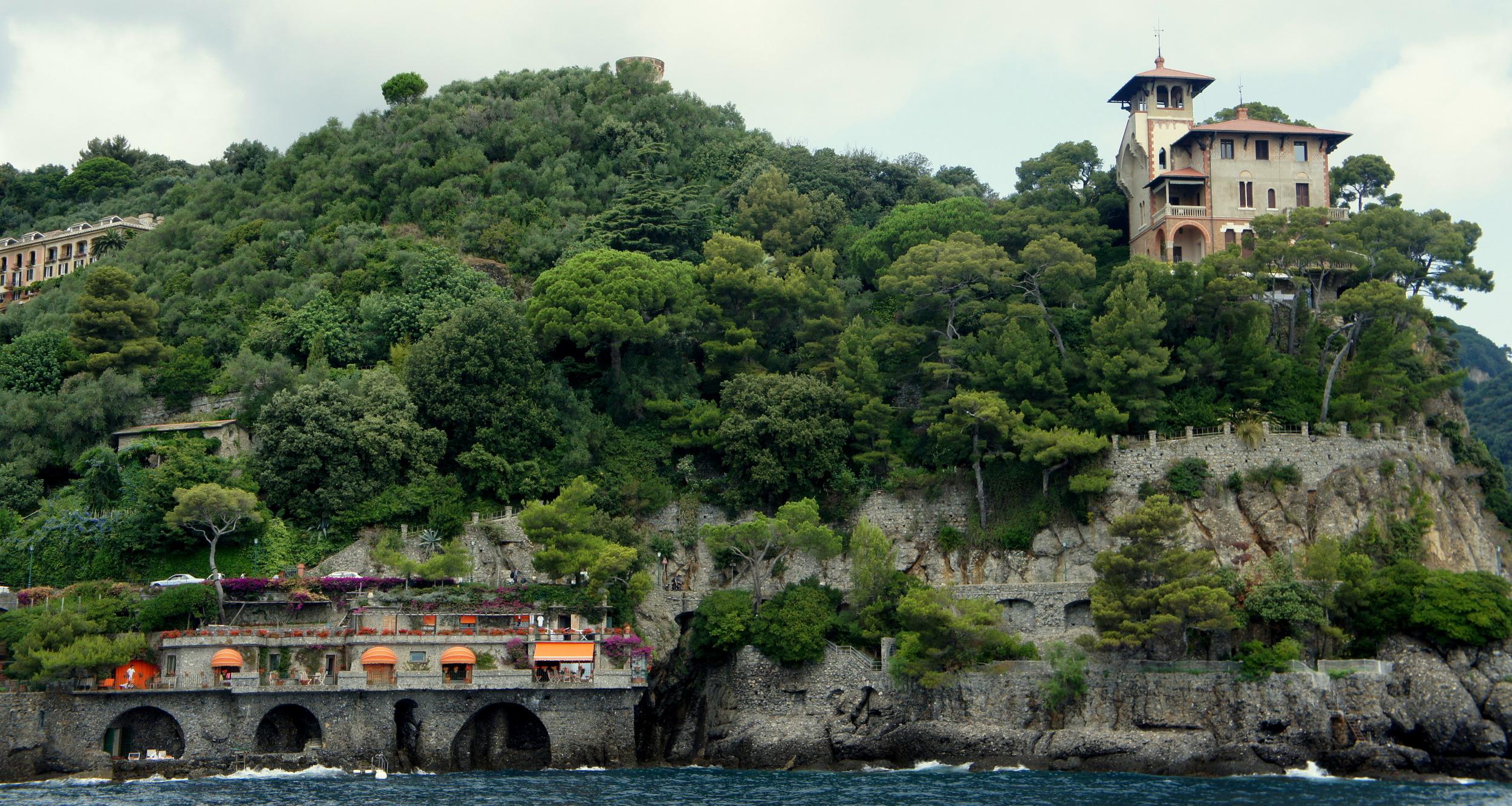 Ferry ride, Liguria