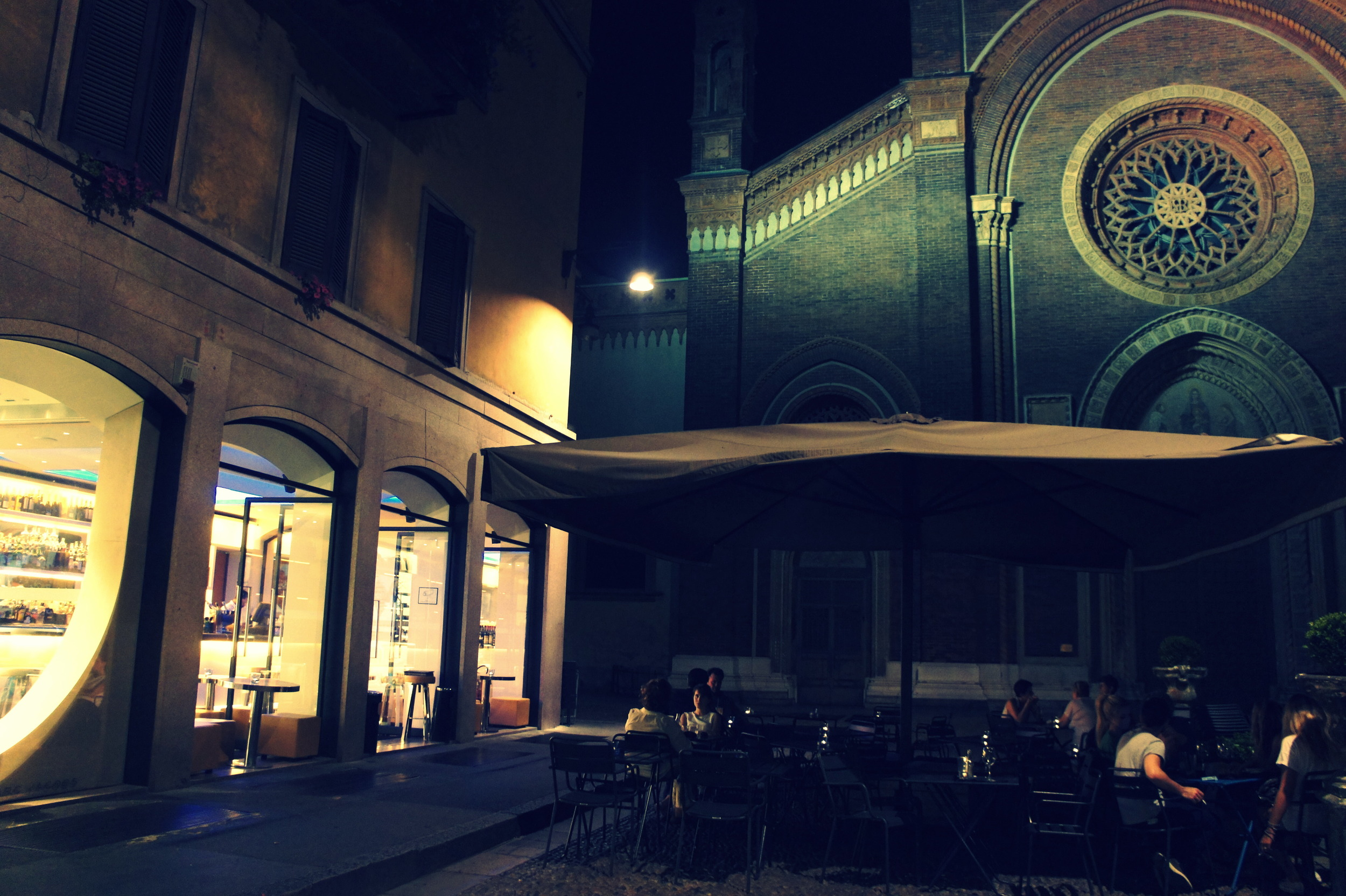 Cafe Marc Jacobs, Brera