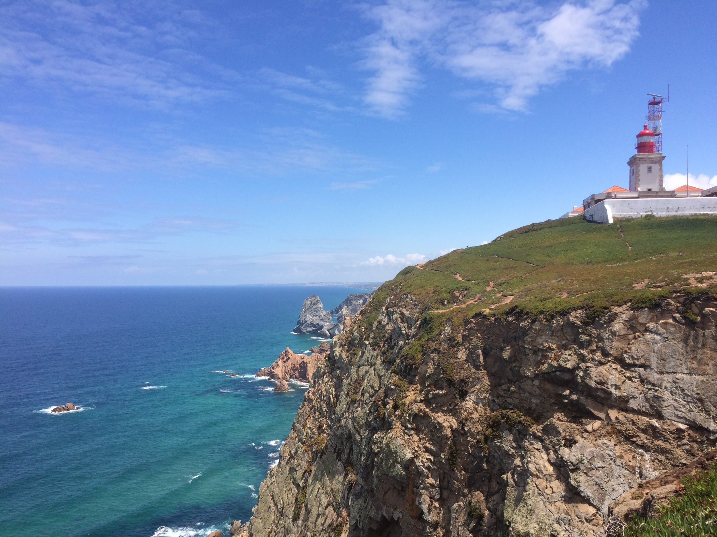 Cabo da Roca, western most point of Europe