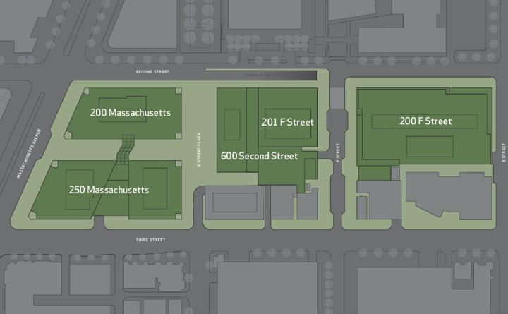 Capitol Crossing: site plan