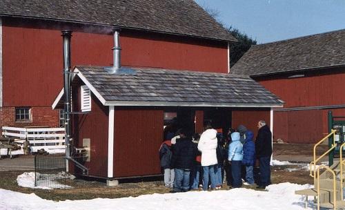 Maple sugar open house