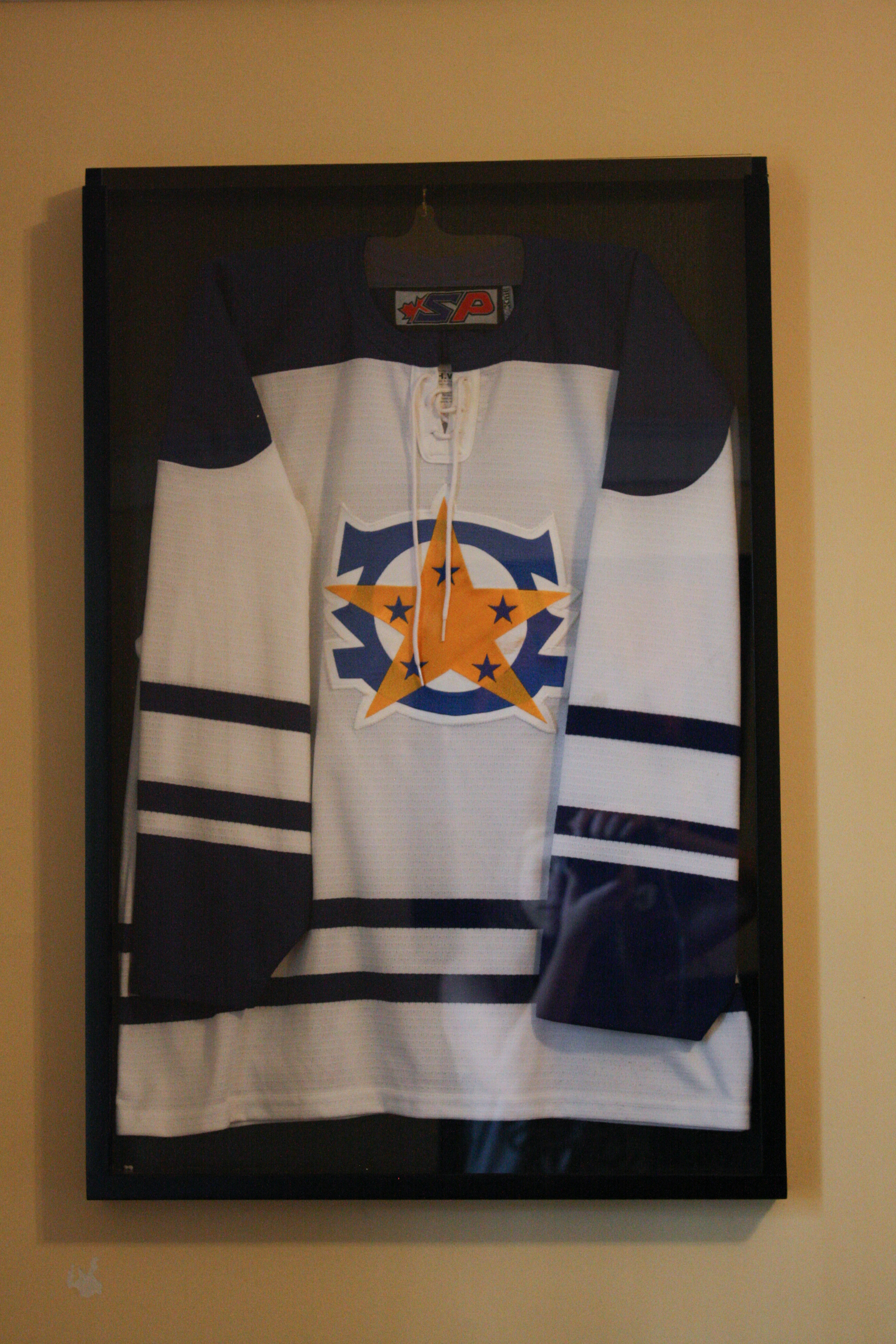 White Colonial Hockey Jersey, early 2000s