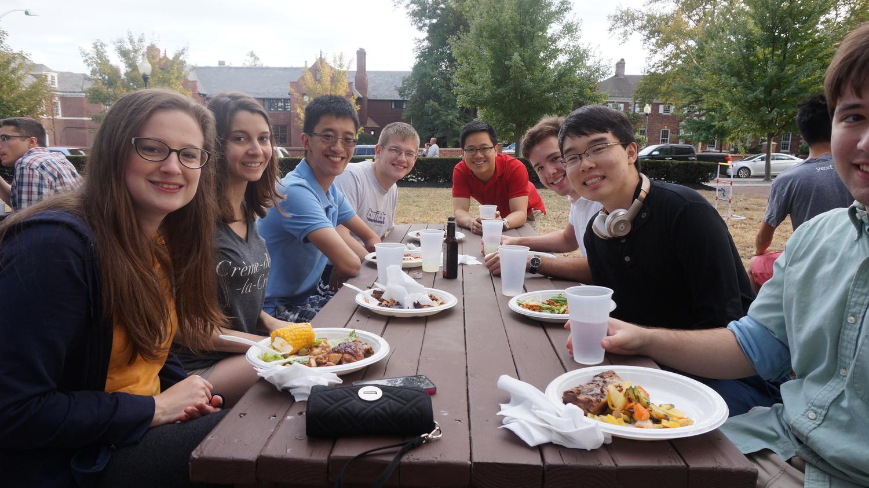 Sophomore BBQ  September 2015