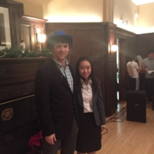 2015 Vice President Kevin Larkin and 2016 Vice President Robin Li