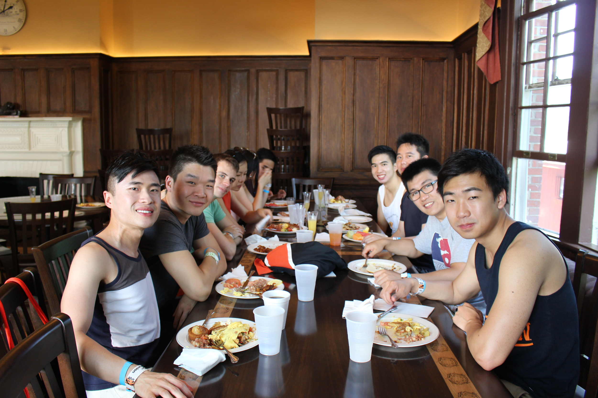 Colonial Club Reunions Brunch 2016:  May 2016