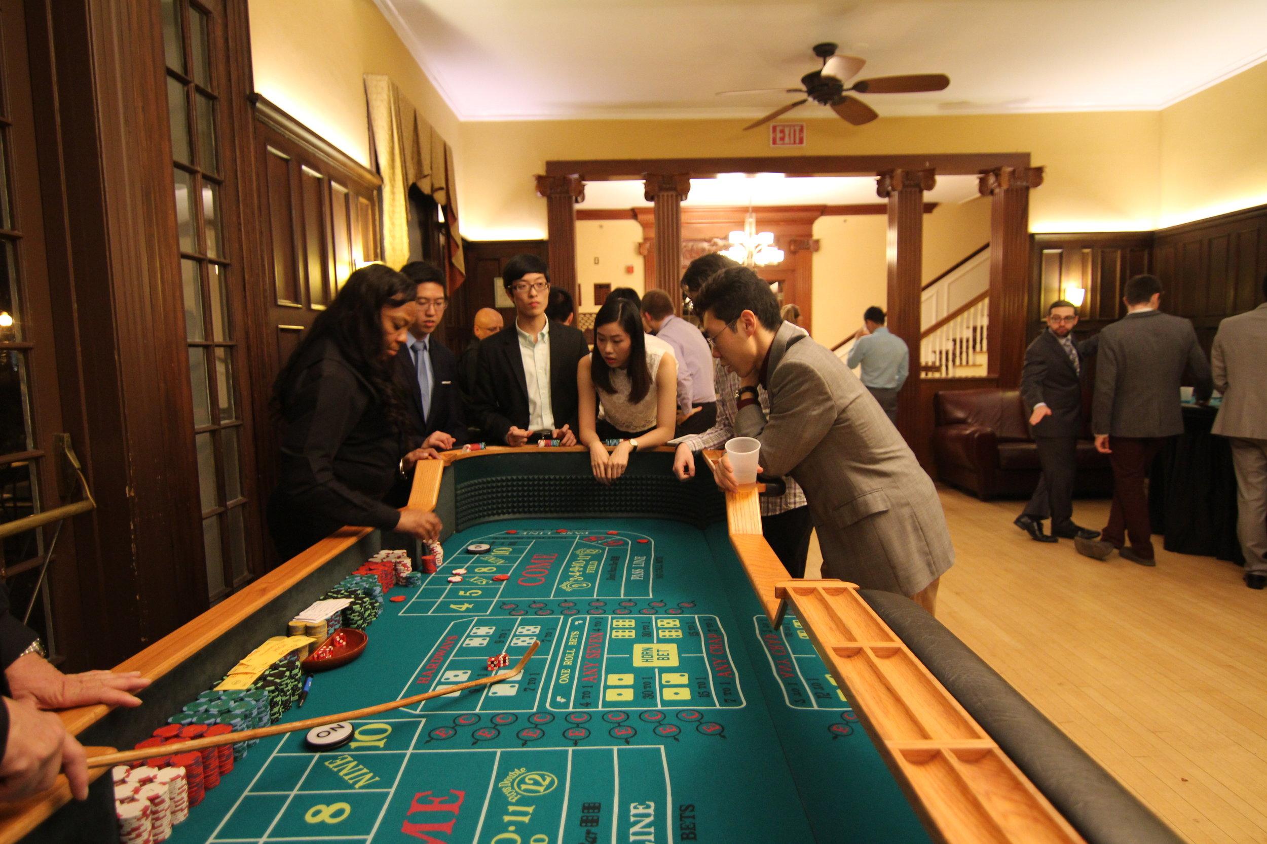 Casino Night Semiformal  November 2016