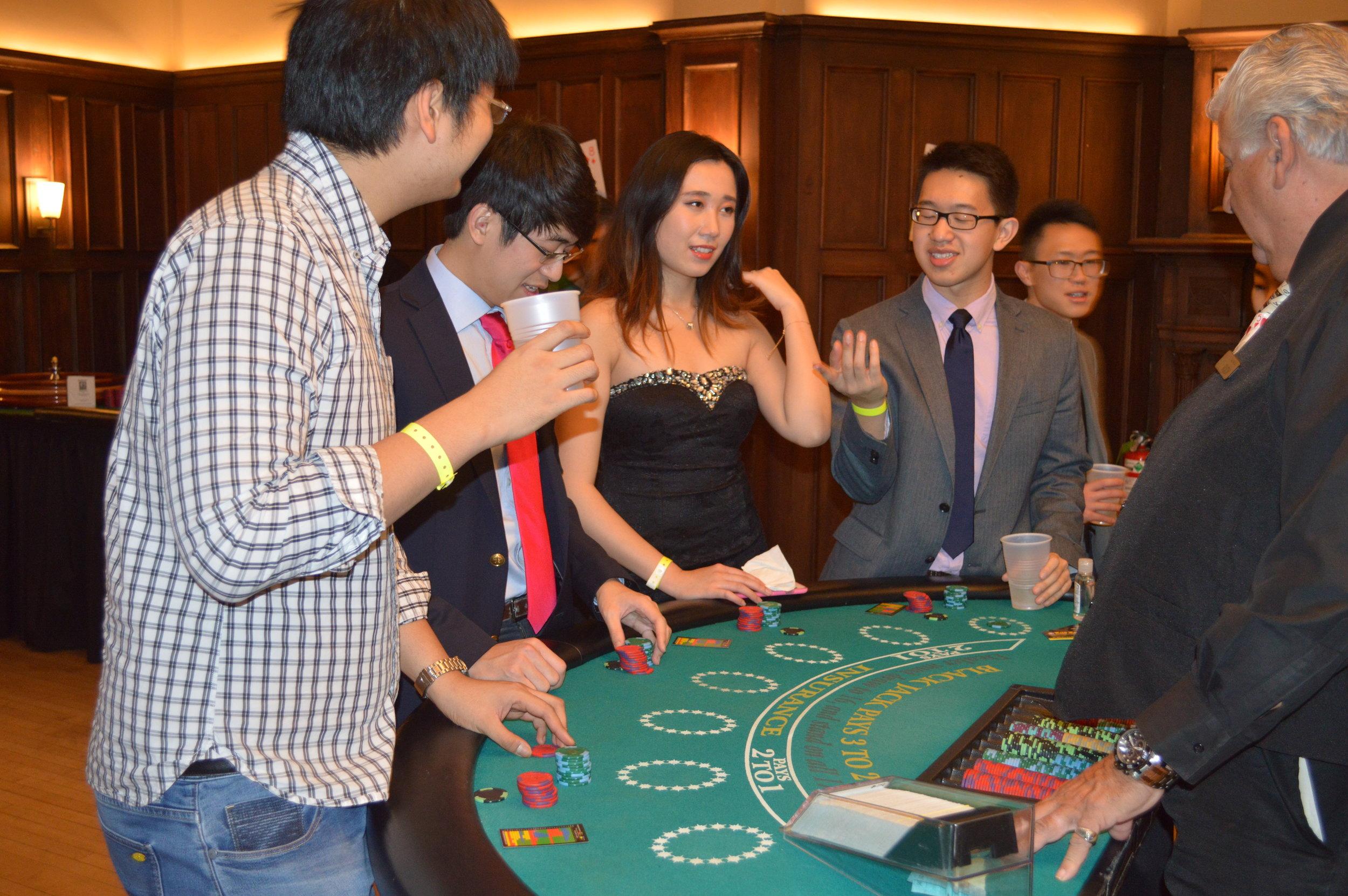 Casino Night Semiformal  November 2017