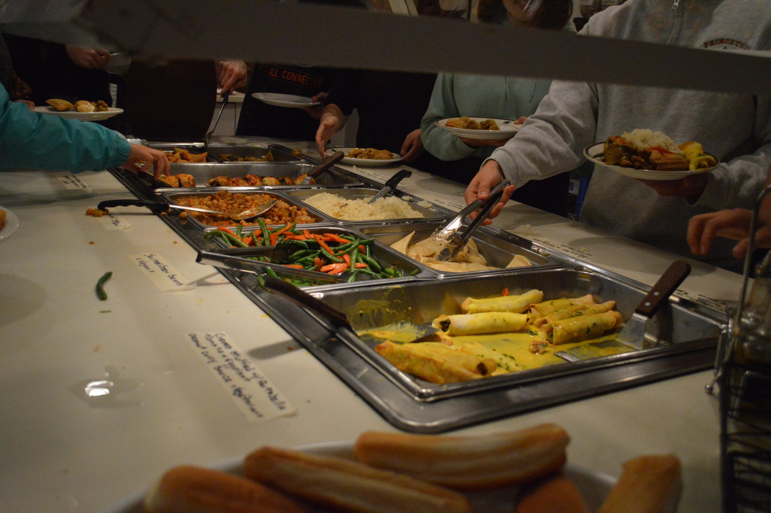 Sophomore Dinner  November 2017