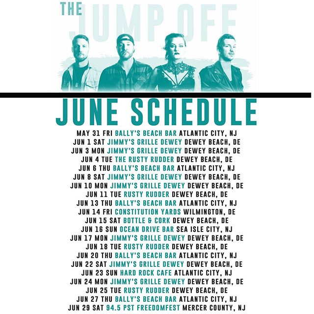 Hey hey hey! Come hang with us in June! You have plenty of chances!