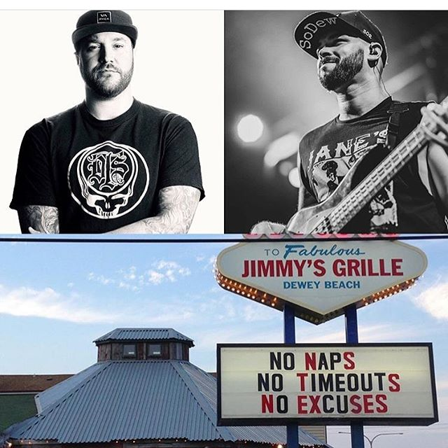 We're switching it up this week! Tonight you can find @mr_richie_d with @blast_the_bass at @jimmysdewey and tomorrow at @rustyrudderde So come on out, request some weird songs and have a crush!