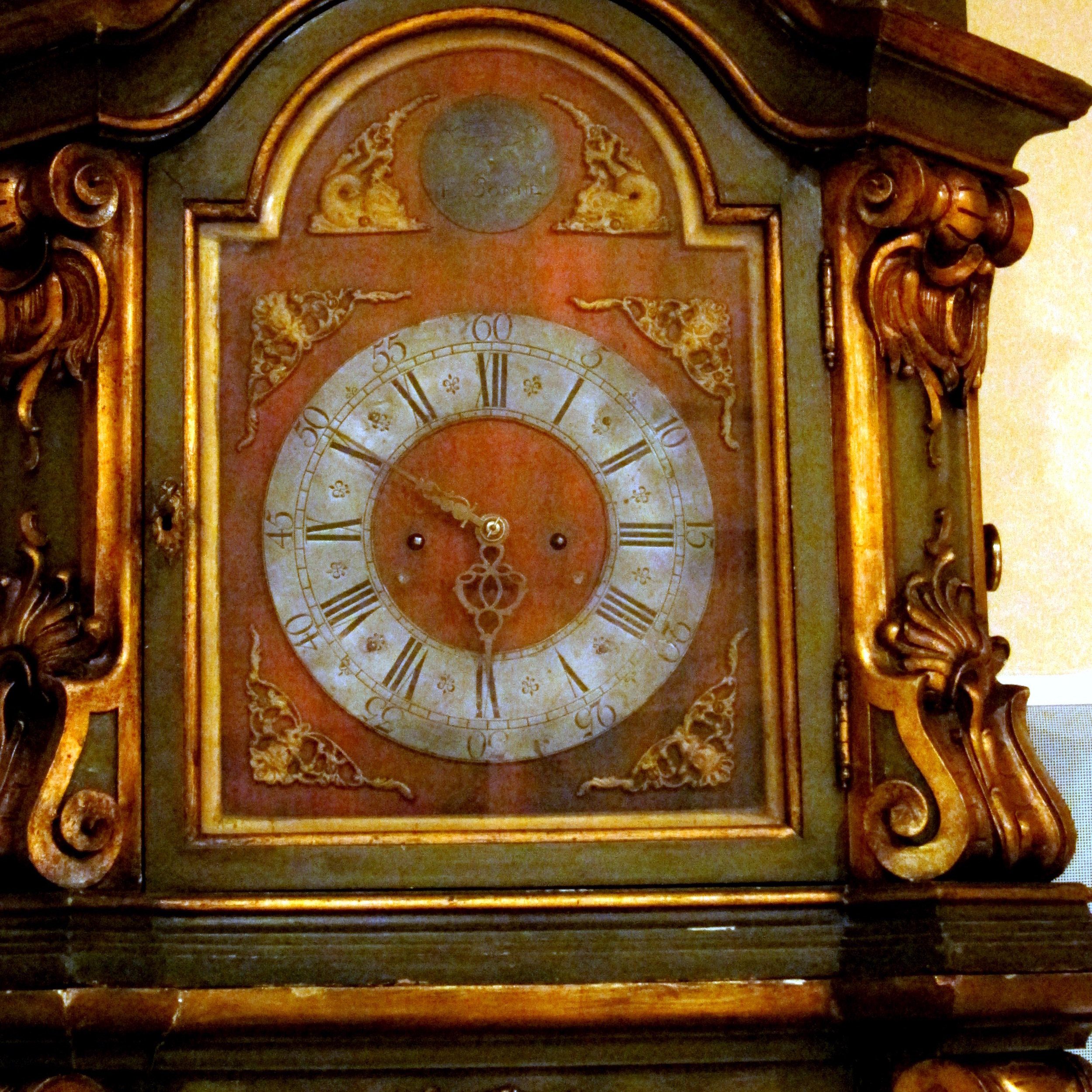 Polyphon Tallcase Musical Clock