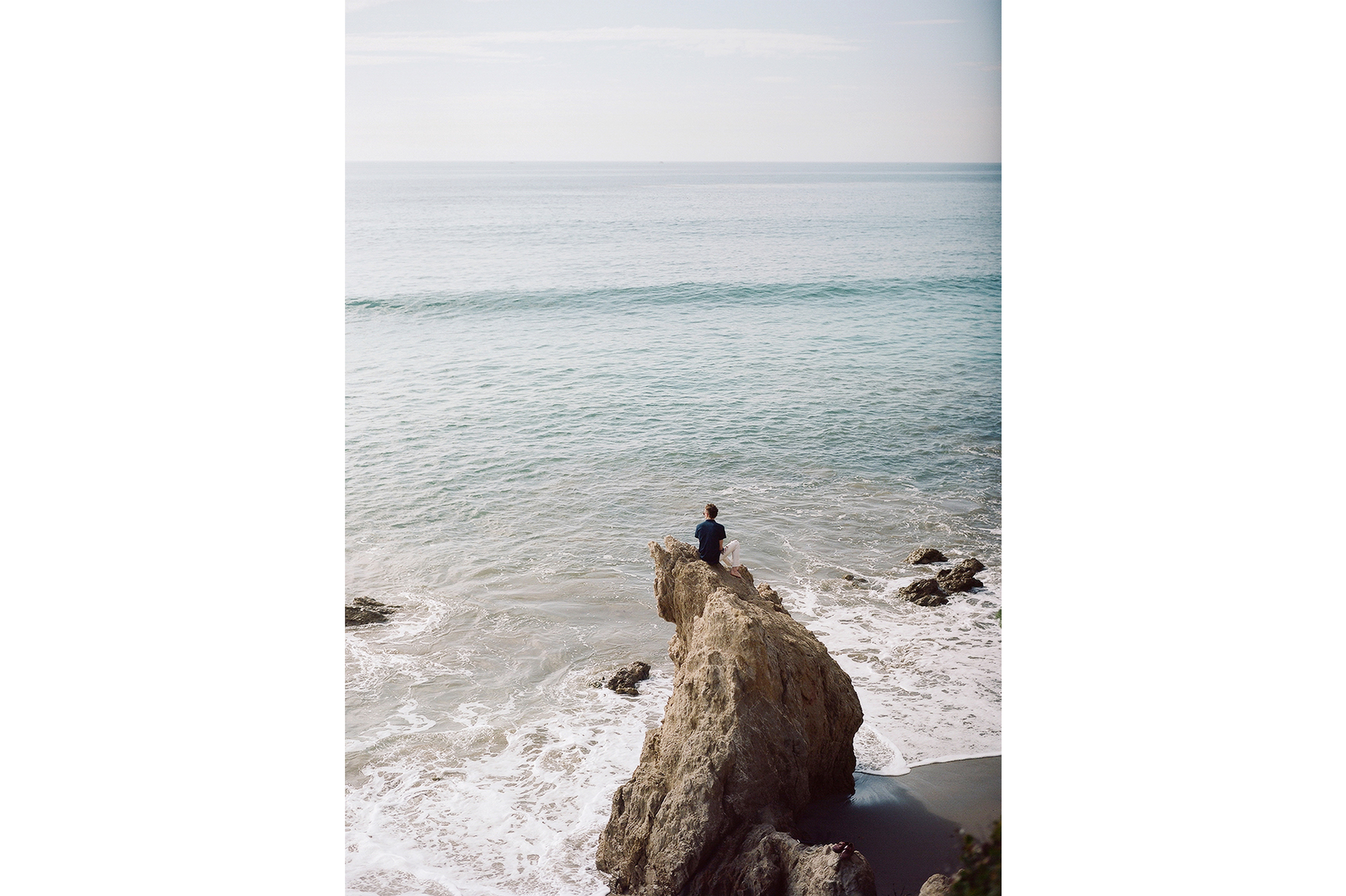 Scott at El Matador Beach, California, 2015