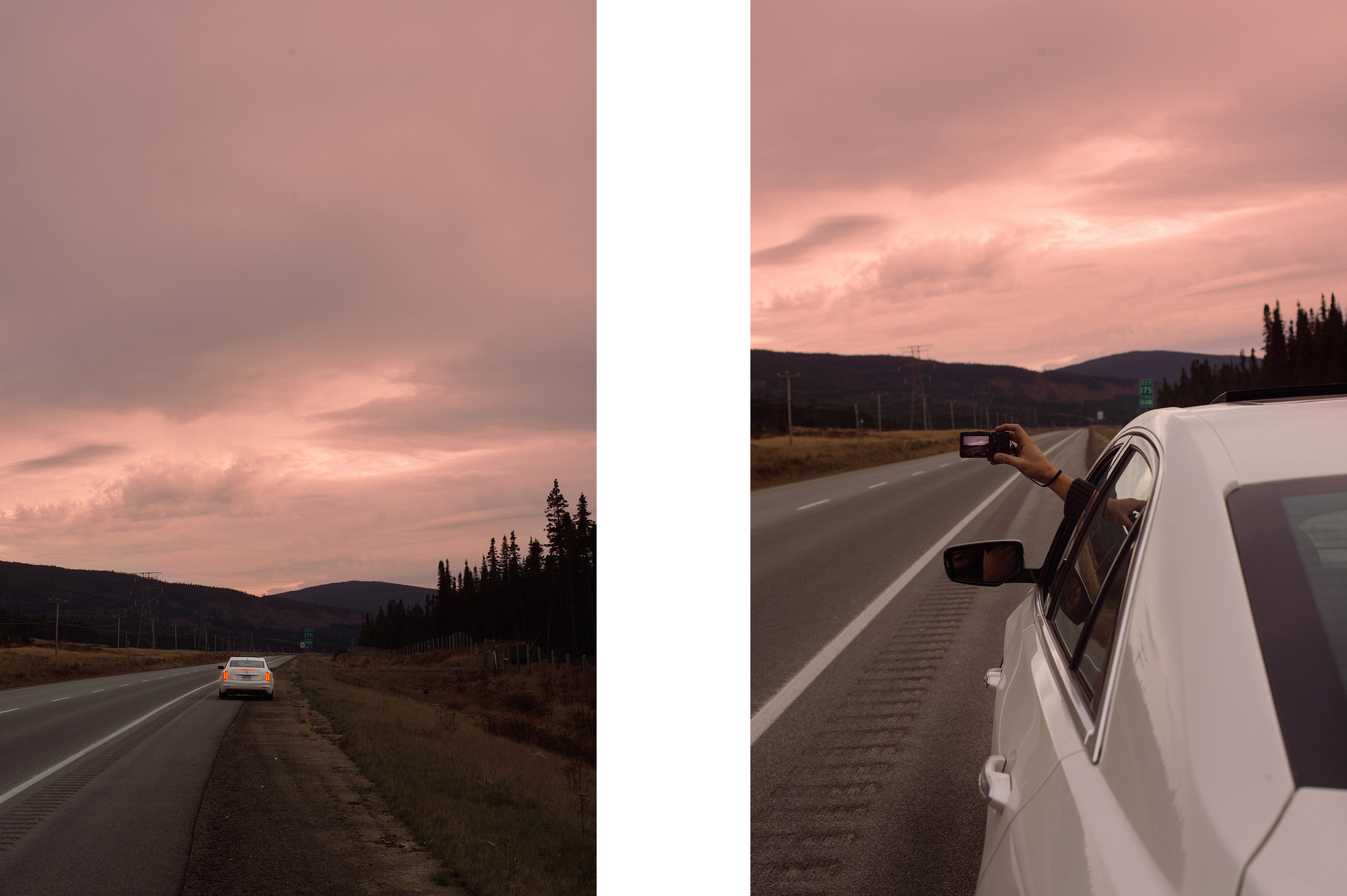 In the Laurentian Mountains of Quebec, photographed for Cadillac, 2014