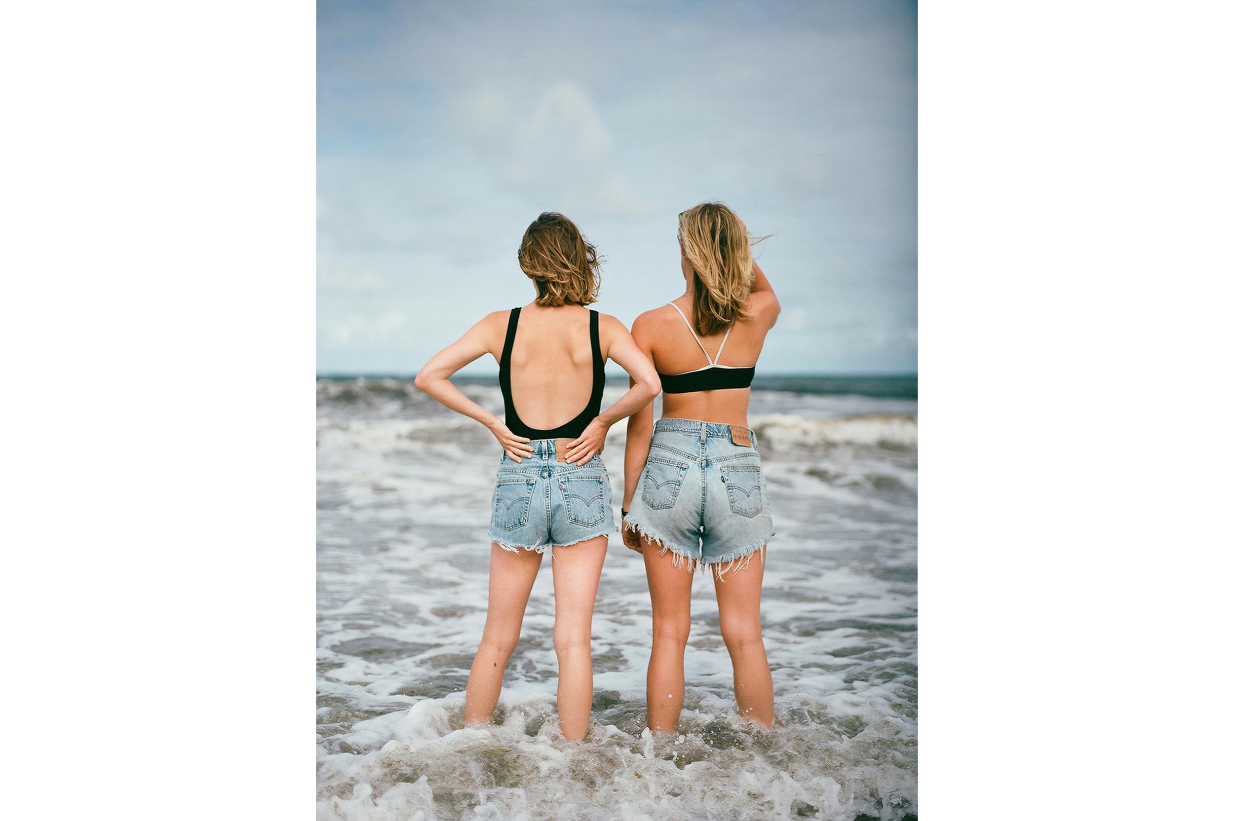 Kathleen & Lela, Cape Cod, 2014