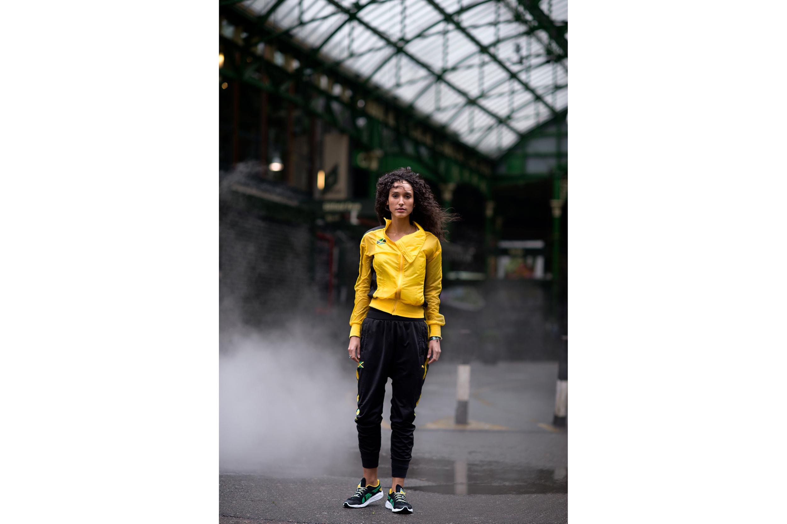 Syanne, photographed for Puma, London, 2015
