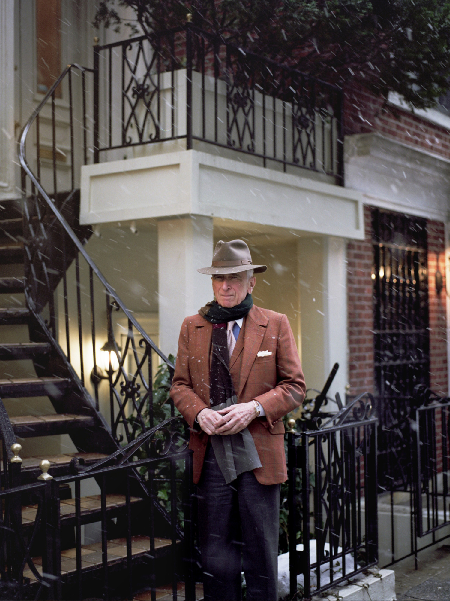 Gay Talese, Photographed for GQ, New York, 2014