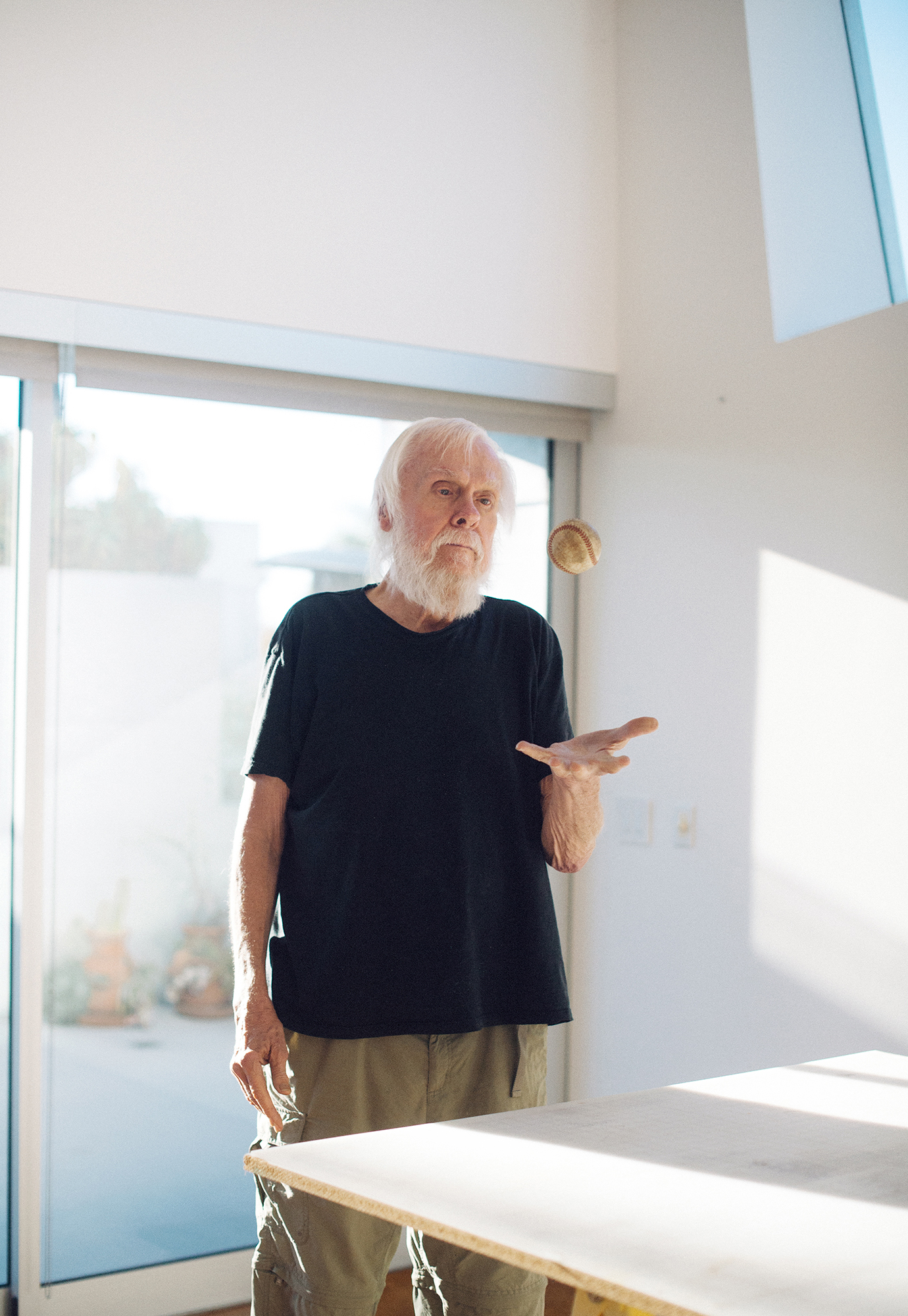 John Baldessari, Photographed for GQ, Los Angeles, 2015