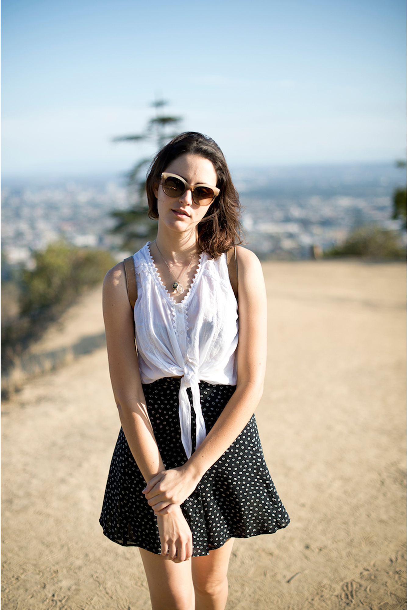 LAUREL, PHOTOGRAPHED FOR OLIVER PEOPLES, LOS ANGELES, 2013