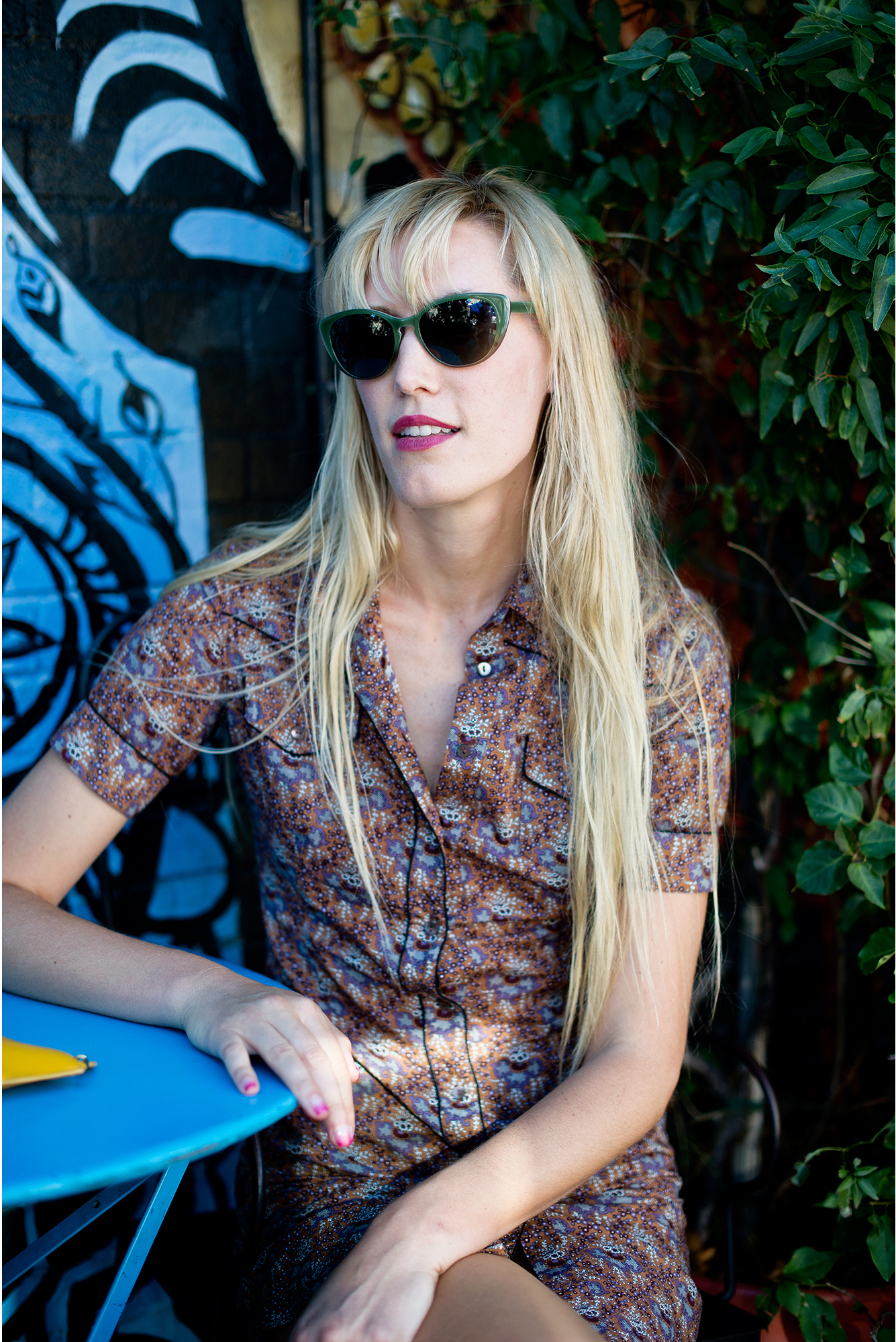 DJUNA, PHOTOGRAPHED FOR OLIVER PEOPLES, LOS ANGELES, 2013