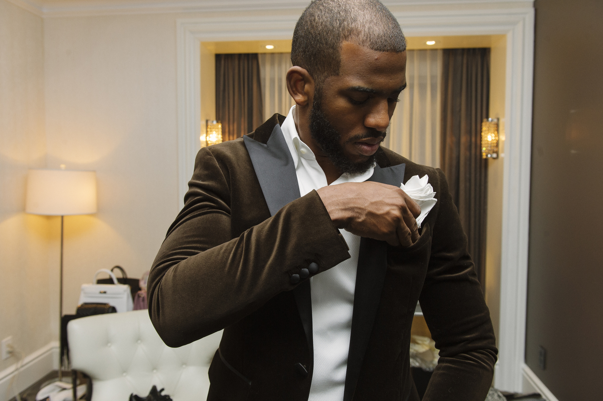 Chris Paul, photographed for GQ, Toronto, 2016