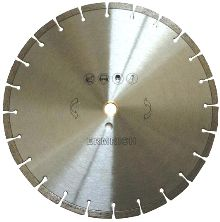 """SPIRAL TURBO FLANGED BLADE    5"""" to 9""""    Application:  Granite, Concrete and other hard stone products"""