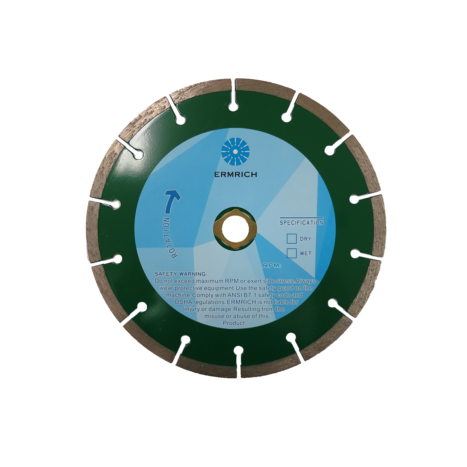 Flush & Flange Blade - Shaping + Cutting  2-in-1
