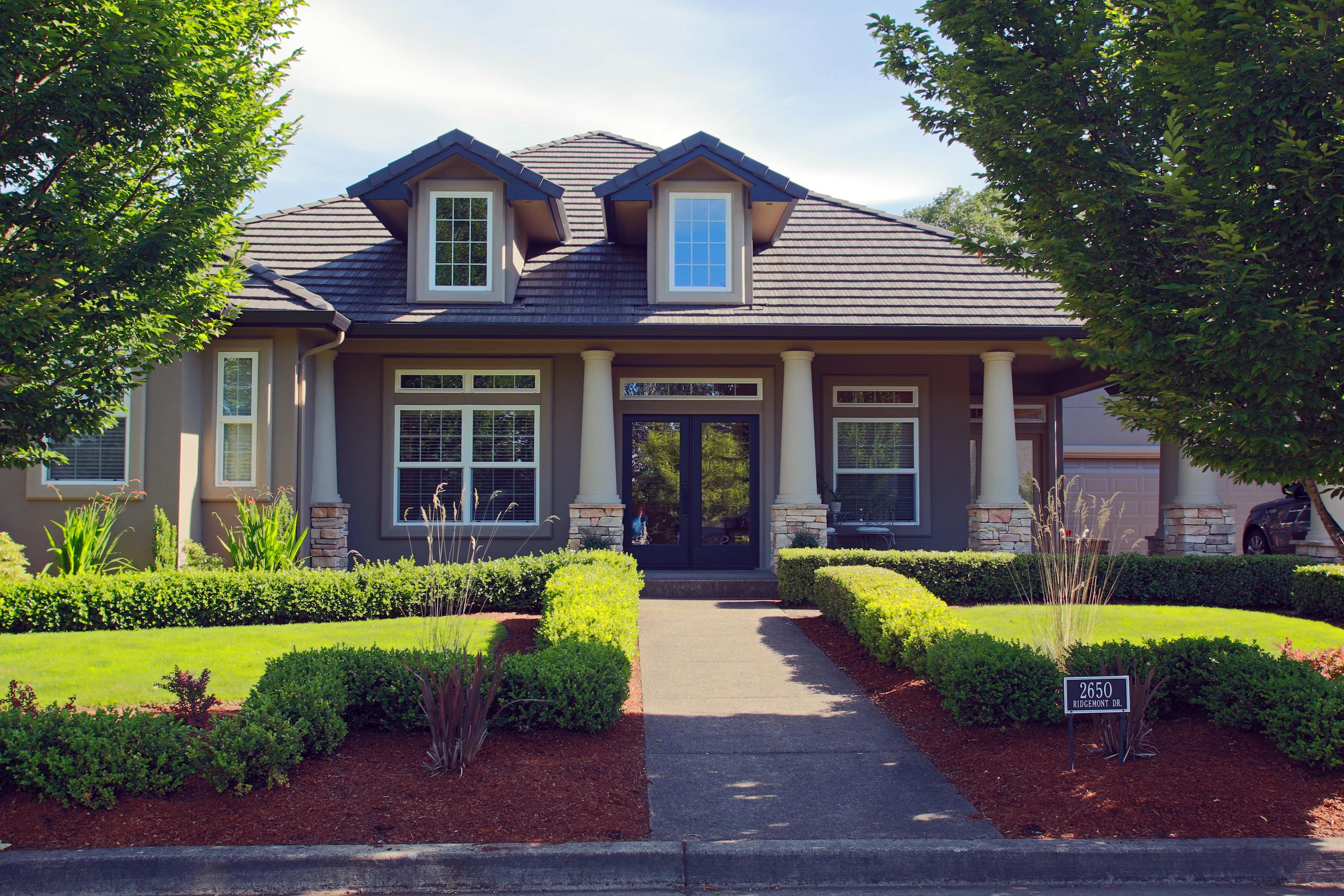 Eugene Oregon dream home Dan Heitman Custom Plan