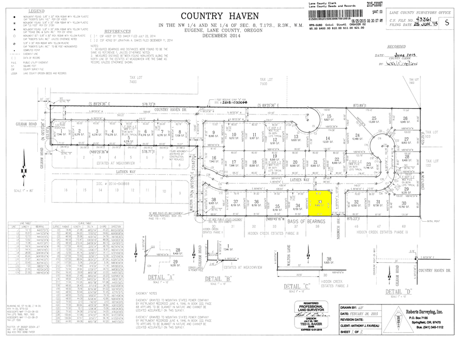 Country Haven Lot 33