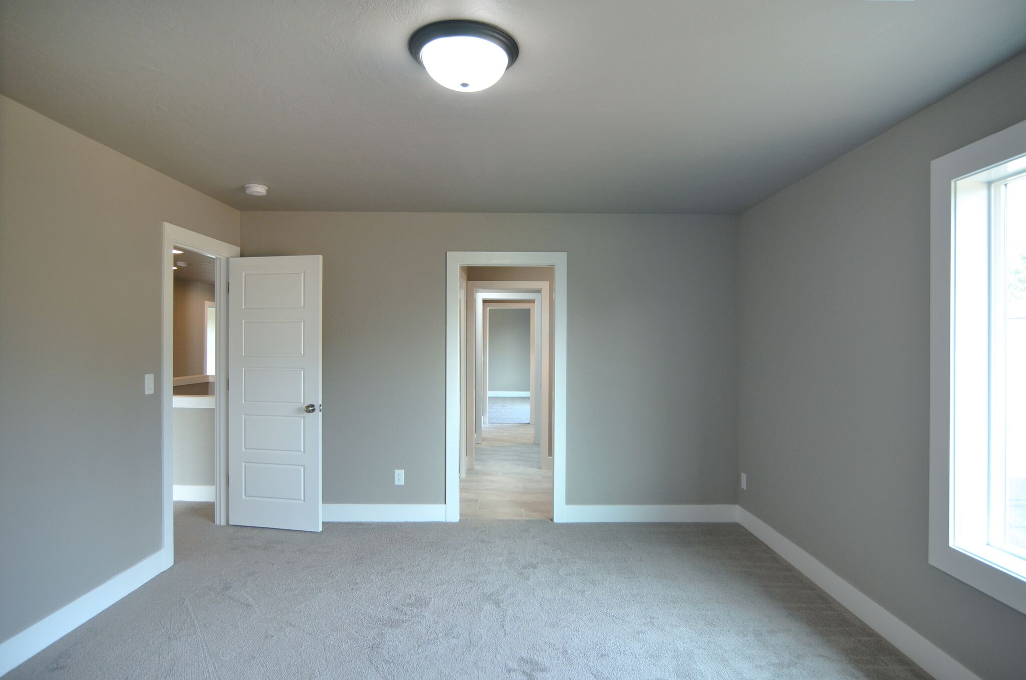 Two large bedrooms connect via a Jack & Jill bathroom.