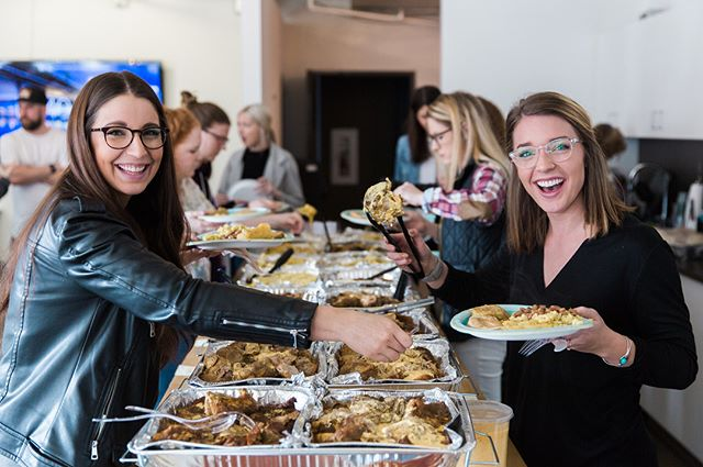 It was so much fun having a Puerto Rican inspired lunch at today's team meeting. We love supporting the work of @ericriveracooks , a local Seattle chef, whose work can be seen in Eater Seattle, The Stranger, and Seattle Met!