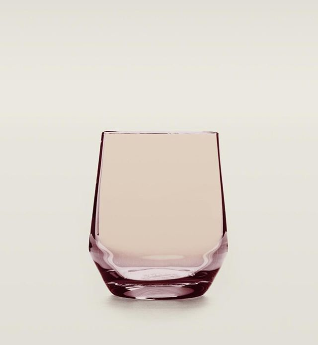 We got you and your lilac needs. Our stemless wine glass can also be used as a water glass to add a bit of color to your table.