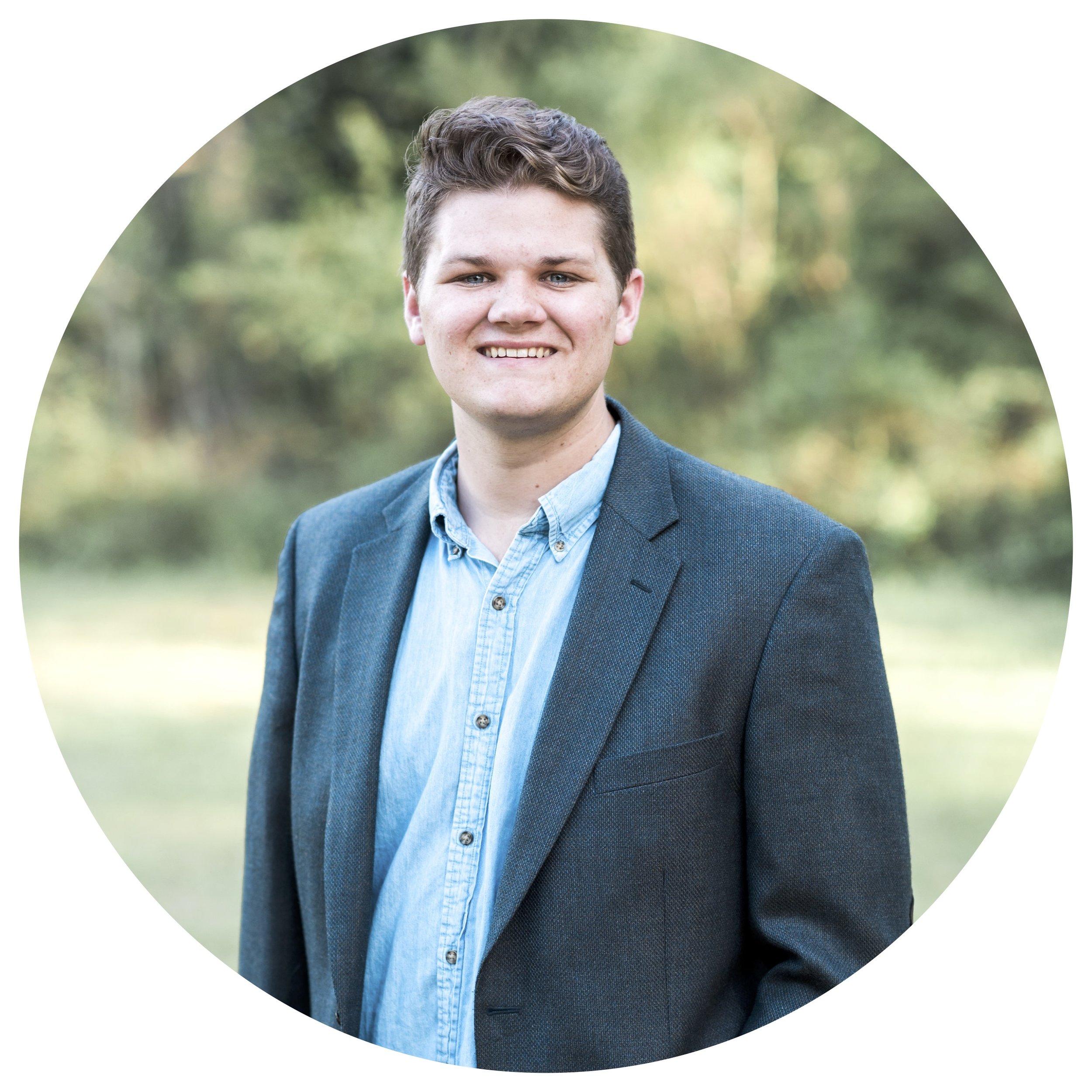 LOGAN STEPHENS  Co-Founder, Chief Brand Officer  Logan@helpfeedserve.org