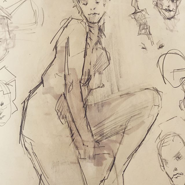 #sketchbook #leuchtturm1917 #moleskin #copic #prismacolor #multipost #gallerypost #gallery #illustation #sketch #drawing #anatomy #art #design #draw #portfolio