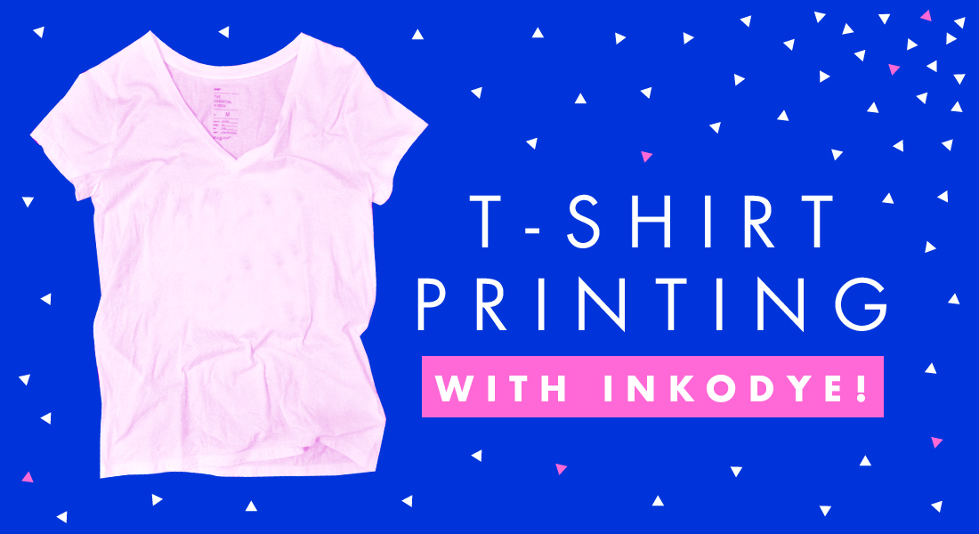 T-shirt printing with Inkodye | Freckle & Fair