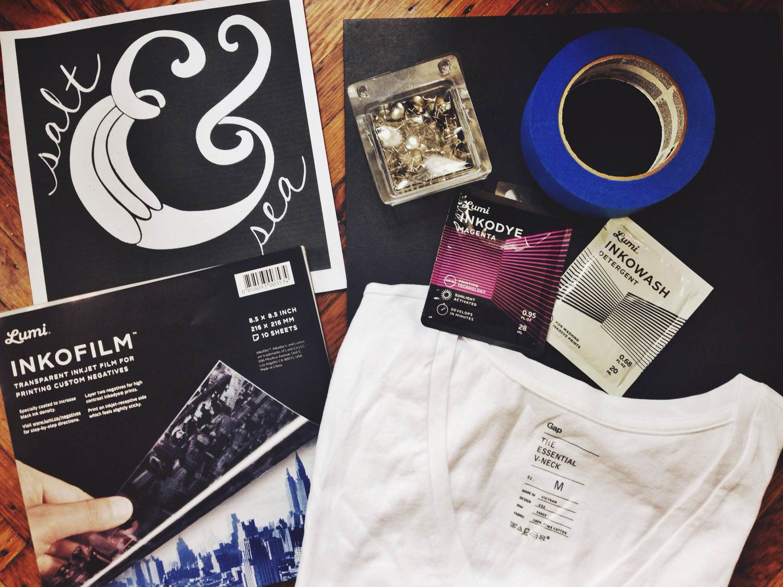 T-shirt printing with Inkodye   Freckle & fair
