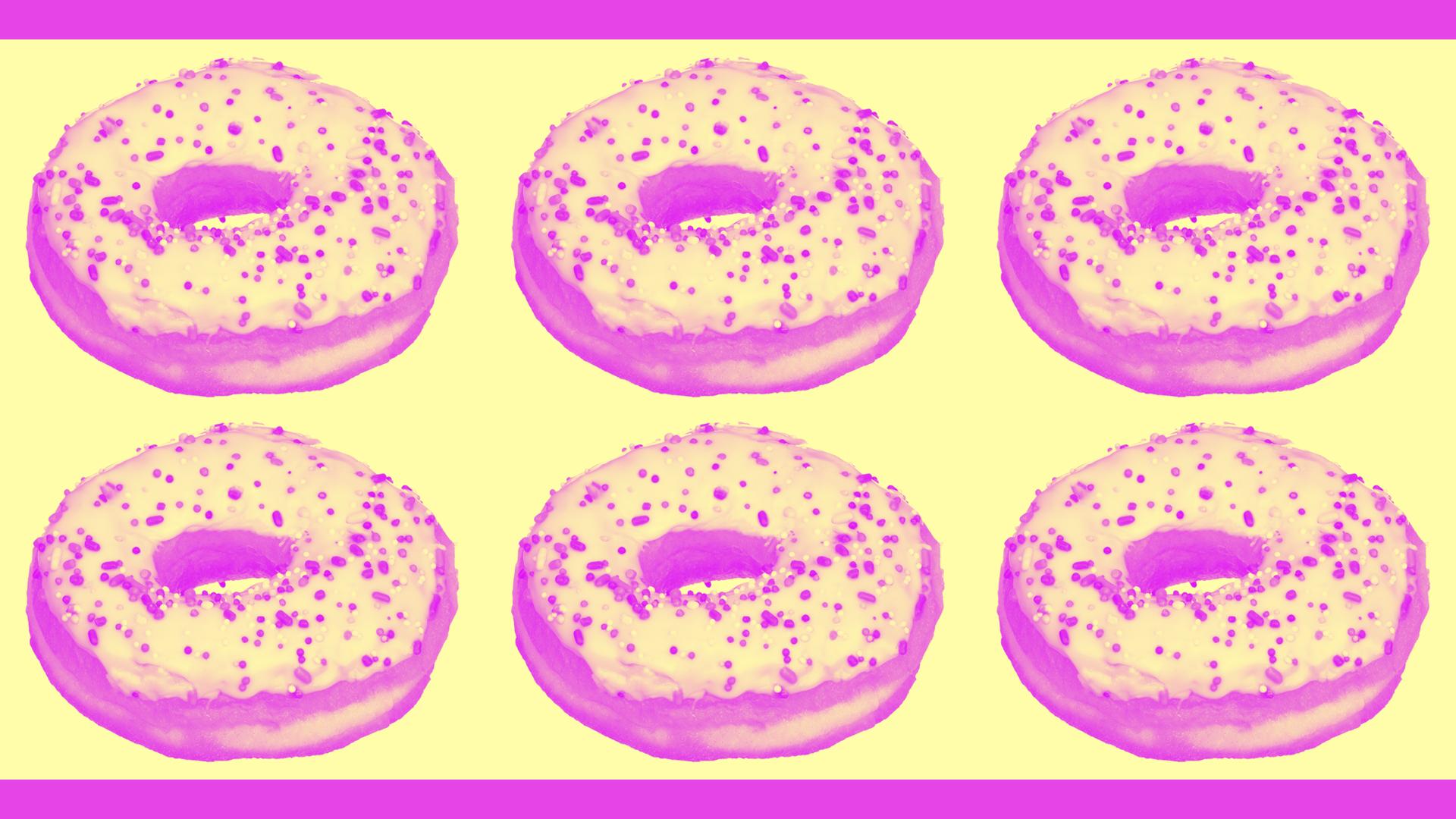 Donut wallpaper downloads | Freckle & Fair