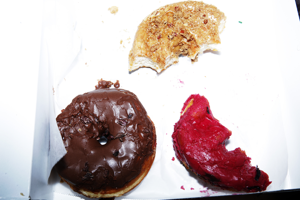 Donuts from Dough in Bed Stuy