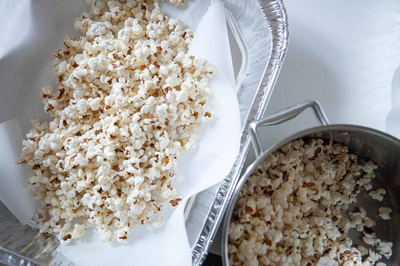 Red hot cinnamon popcorn for Christmas   Freckle & Fair
